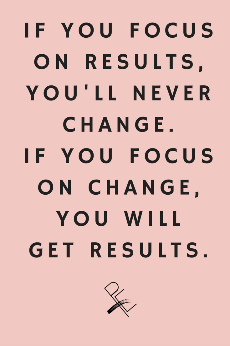 Change Your Focus and Change Your Result